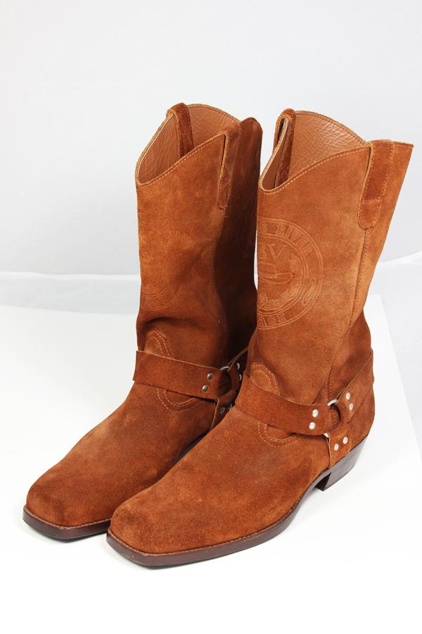 Kavbojski semiš škornji
